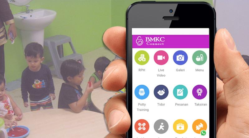 BMKC Connet Hubungkan Ibu Bapa Dengan Anak Di Taska